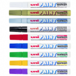 9 Colours UNI PX-20 PAINT MARKER MEDIUM TIP